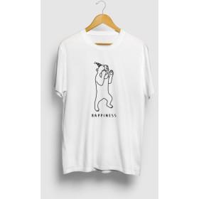 パーリーナイト1 Happiness クマ 動物イラストTシャツ