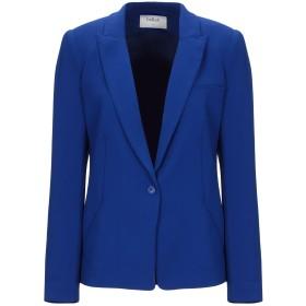 《期間限定セール開催中!》BA & SH レディース テーラードジャケット ブルー 0 ポリエステル 100%