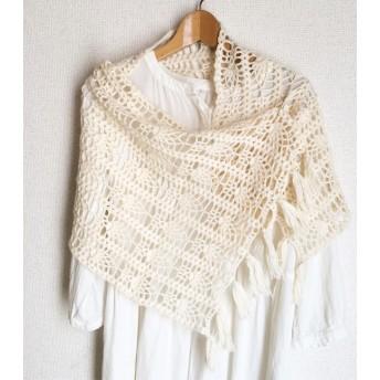 パイナップル編みのショール