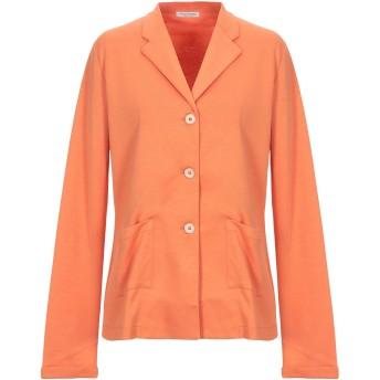 《セール開催中》GRAN SASSO レディース テーラードジャケット あんず色 46 コットン 94% / ナイロン 6%