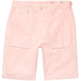 《セール開催中》ORSLOW メンズ バミューダパンツ ピンク 2 コットン 100%