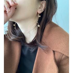 【2018冬新作】Blooming Flower Earrings / 3 Petal