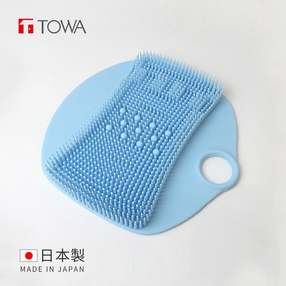 日本東和towa易起泡防滑矽膠按摩足底搓腳墊