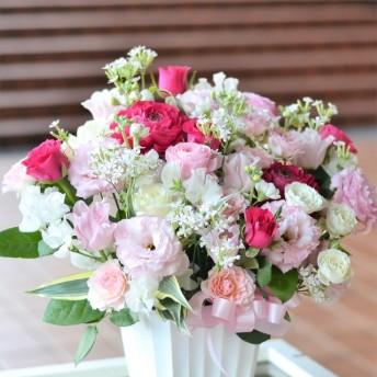 【生花】春限定 フラワーアレンジメント 春のパレード♪