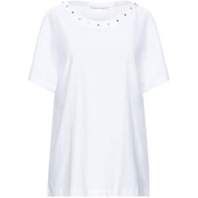 《セール開催中》ALBERTA FERRETTI レディース T シャツ ホワイト 40 コットン 100%