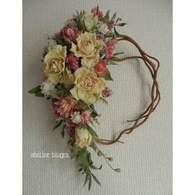 八ヶ岳〜雲龍柳と薔薇のWreath Ver.1