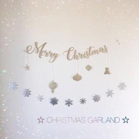 クリスマスガーランド【Merry Christmas】