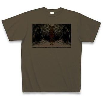 SUPER SONIC◆アート文字◆ロゴ◆ヘビーウェイト◆半袖◆Tシャツ◆オリーブ◆各サイズ選択可