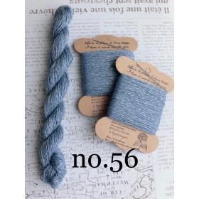 手染め刺し子糸no.56