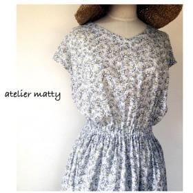 【matty】大人のマーガレットワンピース
