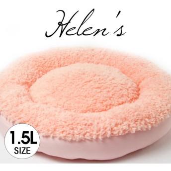 【受注制作】おしゃれペットベッド プードルファー2WAY ライトピンク色 1.5Lサイズ