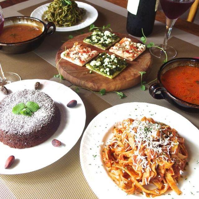 クリスマスやお歳暮ギフトにも ️身体に嬉しい自然食品♪無添加イタリアンディナーセット
