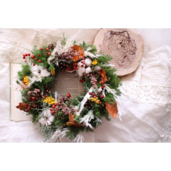 Christmas wreath 2017 #113 [クリスマス×リース×冬]