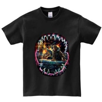 半袖Tシャツ 【インディアナ・戦艦・サメ】 by FOX REPUBLIC