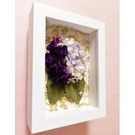 フレーム紫陽花