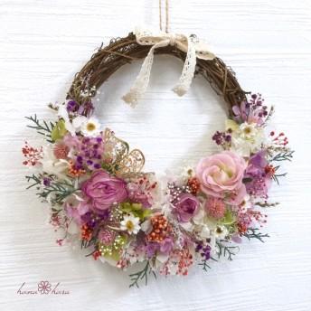 【母の日】 プレゼント 〜Natural lease 〜 hr3101 母の日 母の日プレゼント