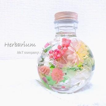 ハーバリウム Baby pink