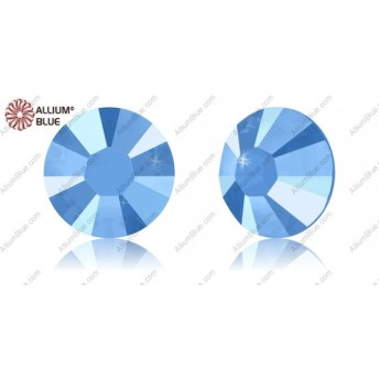 【スワロフスキー#2038】10粒 XILION Rose ラインストーン ホットフィックス SS10 クリスタル・サマー・ブルー HFT (001L114SHFT) 裏面にホイル無し