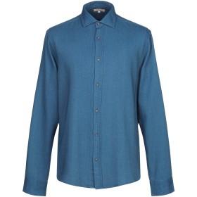 《セール開催中》MARCIANO メンズ シャツ ブルー XL コットン 100%