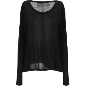 《セール開催中》ENZA COSTA レディース T シャツ ブラック M レーヨン 90% / シルク 10%
