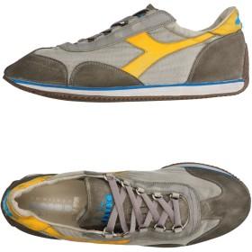 《セール開催中》DIADORA HERITAGE メンズ スニーカー&テニスシューズ(ローカット) 鉛色 6.5 革 / 紡績繊維