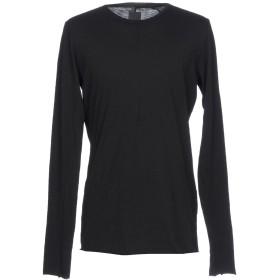 《期間限定セール開催中!》THOM KROM メンズ T シャツ ブラック S コットン 100%