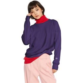 [チャンピオン] リバースウィーブ クルーネックスウェットシャツ CW-N008 レディース ダークパープル 日本 L (日本サイズL相当)