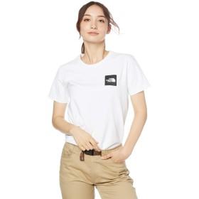 [ザ・ノース・フェイス] Tシャツ ショートスリーブリーブスクエアロゴティー レディース ホワイト 日本 S (日本サイズS相当)