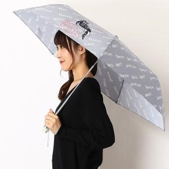ポールアンドジョーアクセソワ(傘・ネック)(PAUL & JOE)/雨傘(3段/折りたたみ/ミニ)【楽々開閉/UV加工】イノセントアンティル…