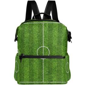 サッカー場 きれい かっこいい リュック 学生用 デイパック レディース 大容量 バックパック 男女兼用 機能性 大容量 防水性 デザイン 旅行 ブックバッグ ファション