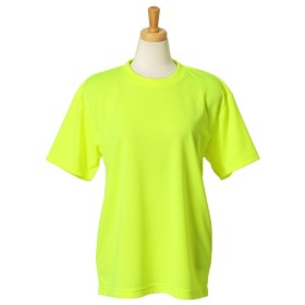 リアルスタイル 4.1オンスドライアスレチックTシャツ レディース イエロー XL 【REAL STYLE】