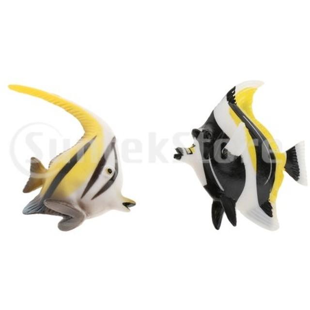 動物模型 フィギュア フィッシュ 魚 モデル おもちゃ キッズ 早期教育玩具 知育玩具 置物 全2種