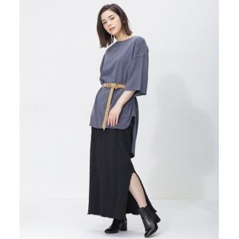 【公式/ナノ・ユニバース】Cable Skirt 5000円以上送料無料【R JUBILEE】