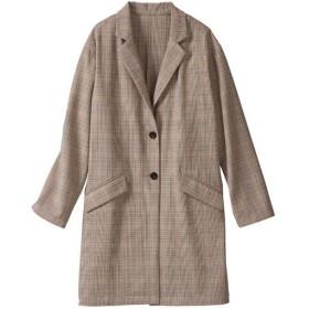 59%OFF【レディース大きいサイズ】 テーラードジャケット(手洗いOK) - セシール ■カラー:ブラウン系 ■サイズ:6L,5L,4L,3L