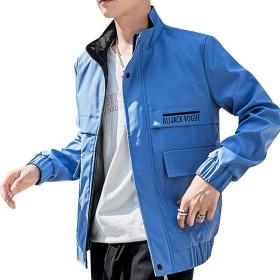 BANKIKU(バンキク) 秋物 アウター ジャケット ブルゾン 春秋 カジュアル ファッション おしゃれ カーゴ ポリエステル