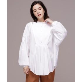 【公式/ナノ・ユニバース】Ox combi shirts 5000円以上送料無料【ELIN】