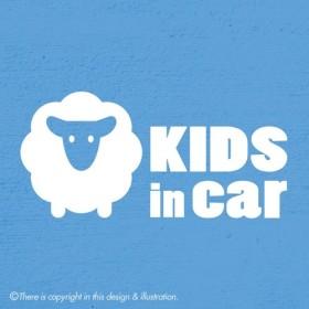 キッズインカー/ひつじ003 kids in car ★ ステッカー