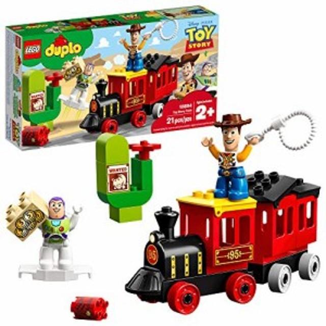 レゴLEGO DUPLO Disney Pixar Toy Story Train 10894 Perfect for Preschoolers, Toddler Train Set includes Toy S