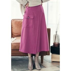 Droite lautreamont モクチョウサージストレッチスカート その他 スカート,ピンク