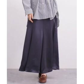 【WEB限定】サテンマーメードスカート 5000円以上送料無料【公式/ナノ・ユニバース】