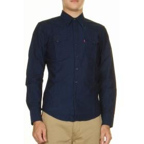 リーバイス 65816 長袖 ダンガリー インディゴ デニムシャツ LEVI'S DENIM SHIRT ブルー ワークシャツ