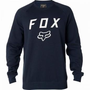 フォックス レーシング Fox Racing メンズ 自転車 ジャケット アウター Legacy Fleece Crew Jacket Midnight