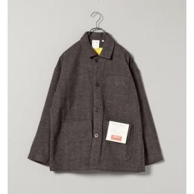【シップス/SHIPS】 MACOBER×SHIPS ウール カバーオールジャケット