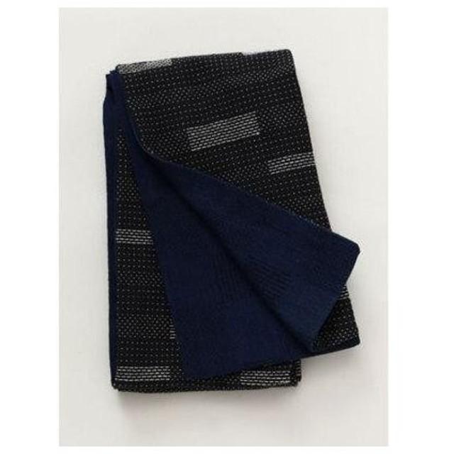 【チャイハネ】インディゴMEN'S浴衣帯 ブラックミックス