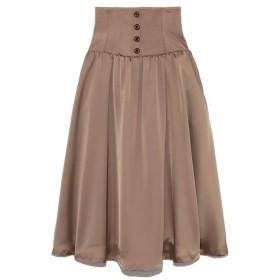Lily Brown(リリーブラウン)フロントボタンサテンスカート