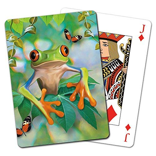 Tree-Free Greetings Deck of Playing Cards CD15903 Sloth Selfie 2.5 x 0.8 x 3.5 Inches