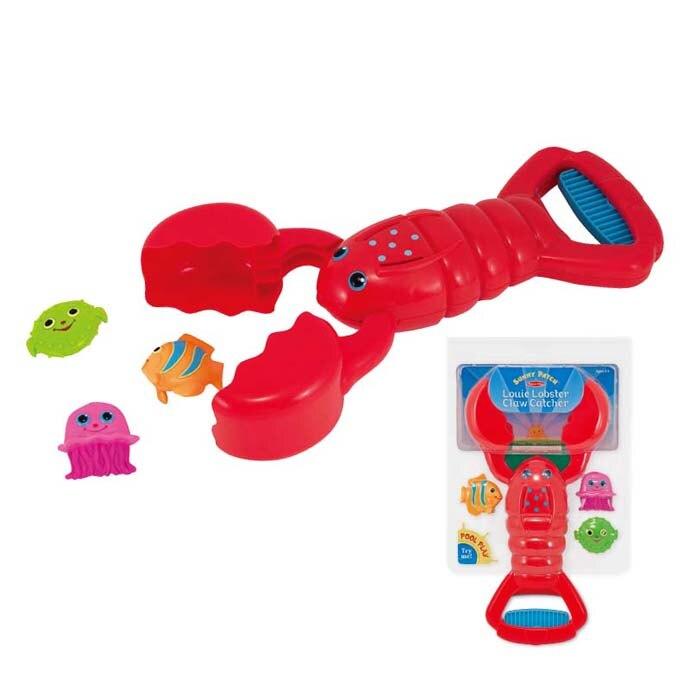 【華森葳兒童教玩具】戶外遊戲器材-龍蝦抓魚夾 N7-6669