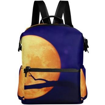 ハロウィーン フクロウ リュック 学生用 デイパック レディース 大容量 バックパック 男女兼用 機能性 大容量 防水性 デザイン 旅行 ブックバッグ ファション