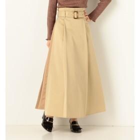 【アルシーヴ/archives】 A-Backプリーツアシメスカート