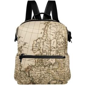 地図柄 リュック 学生用 デイパック レディース 大容量 バックパック 男女兼用 機能性 大容量 防水性 デザイン 旅行 ブックバッグ ファション